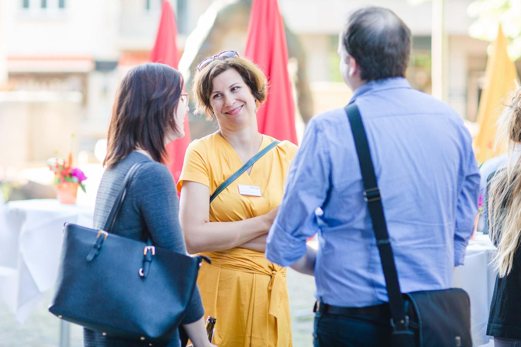 Sandra Roth, Katrin Schmitter and Stefan Hiller