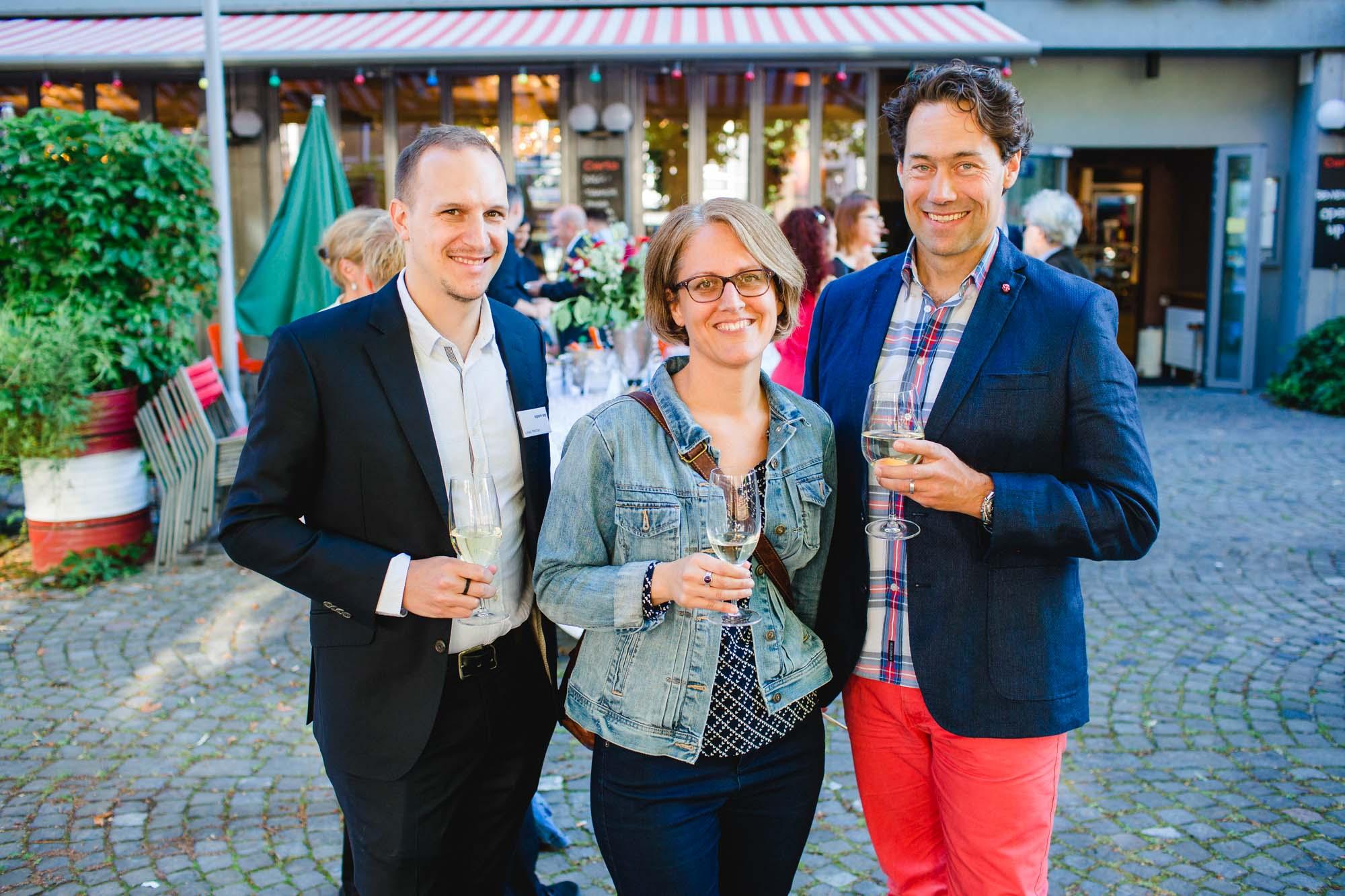 Lukas Mettler, Janine Haas and Gregor Ingold