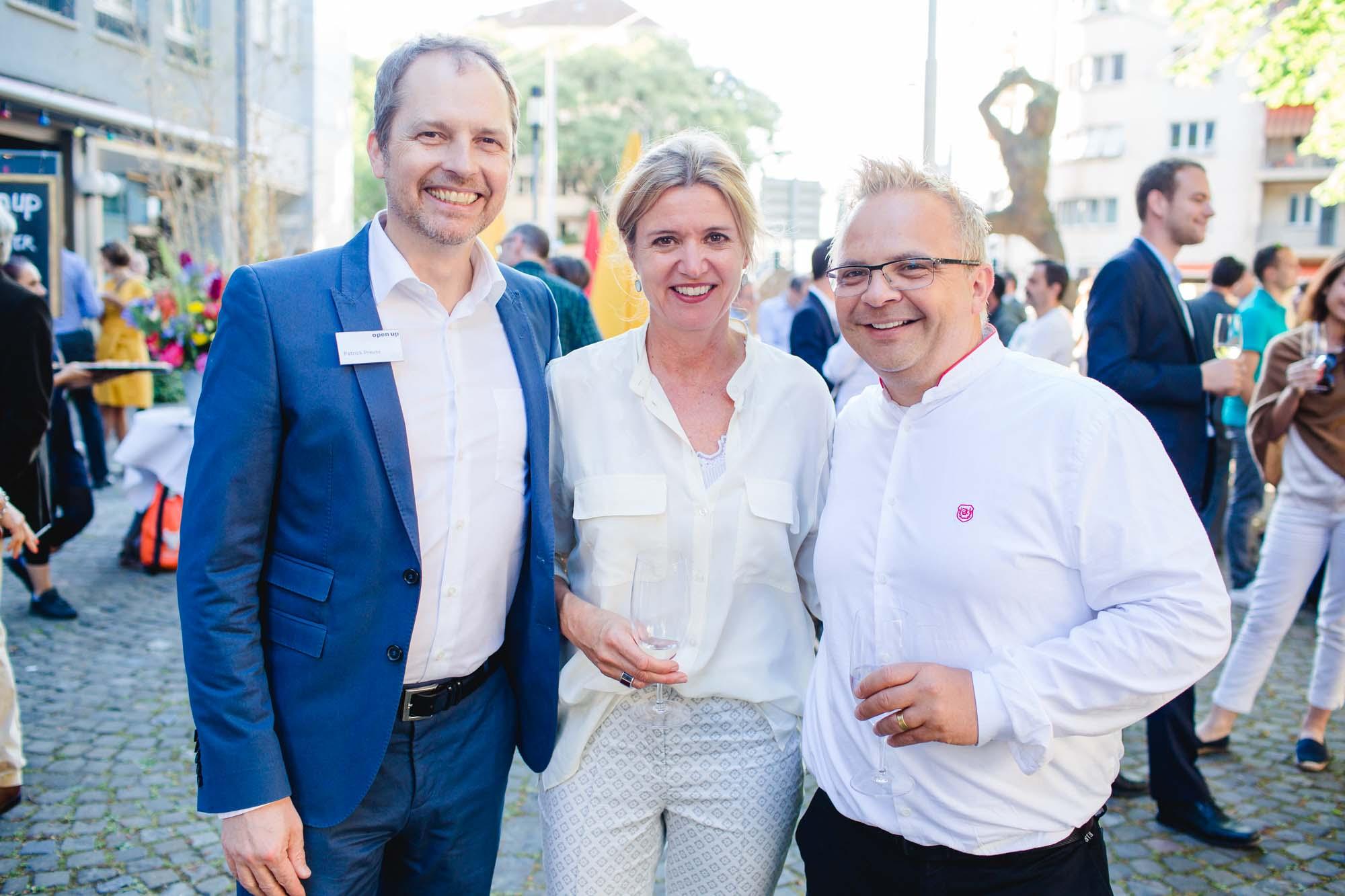 Patrick Preuss, Corinne Römer and Stefan Schmid