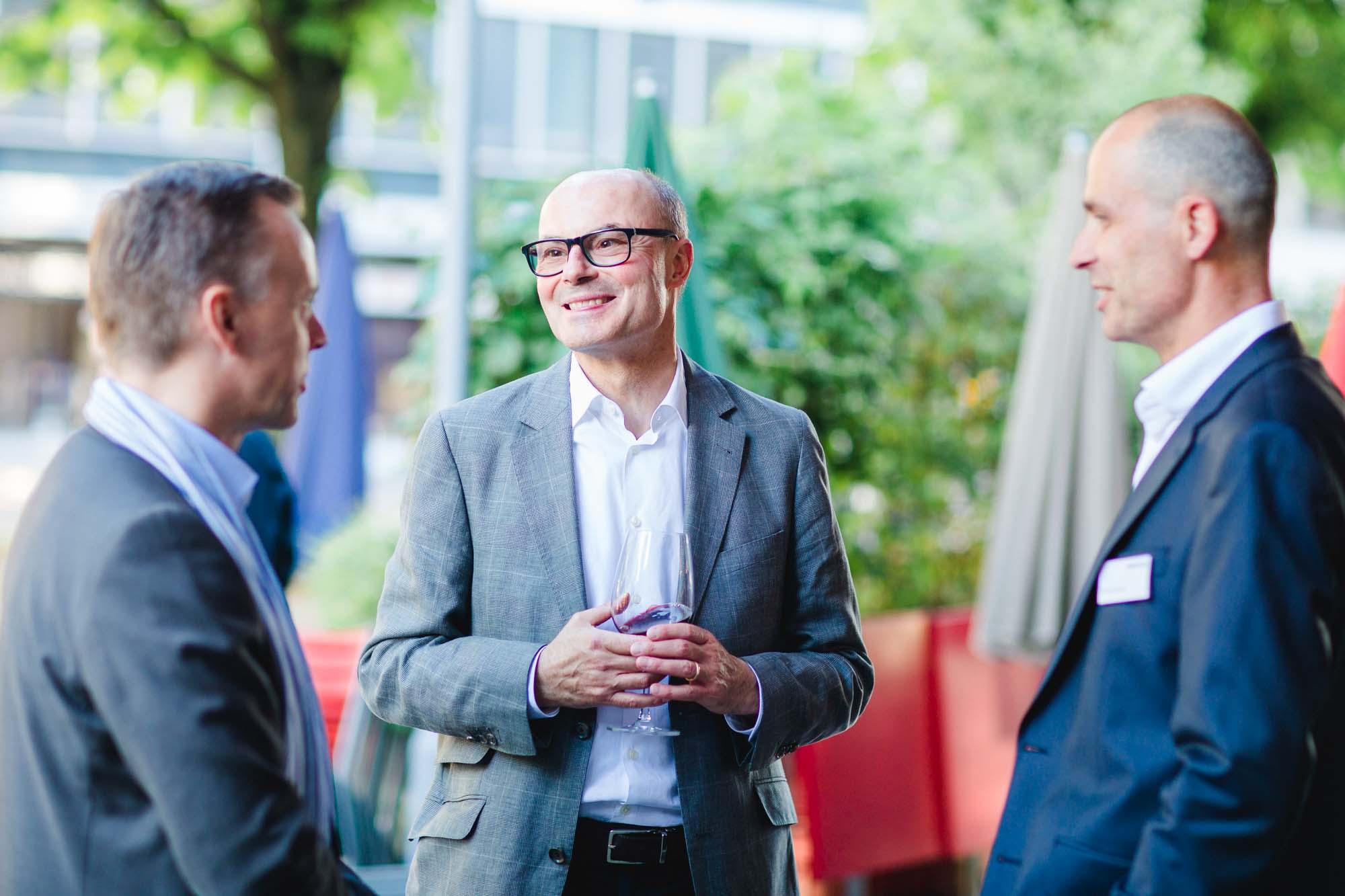 Soeren Bjönness, Gregor Bucher and Kilian Borter