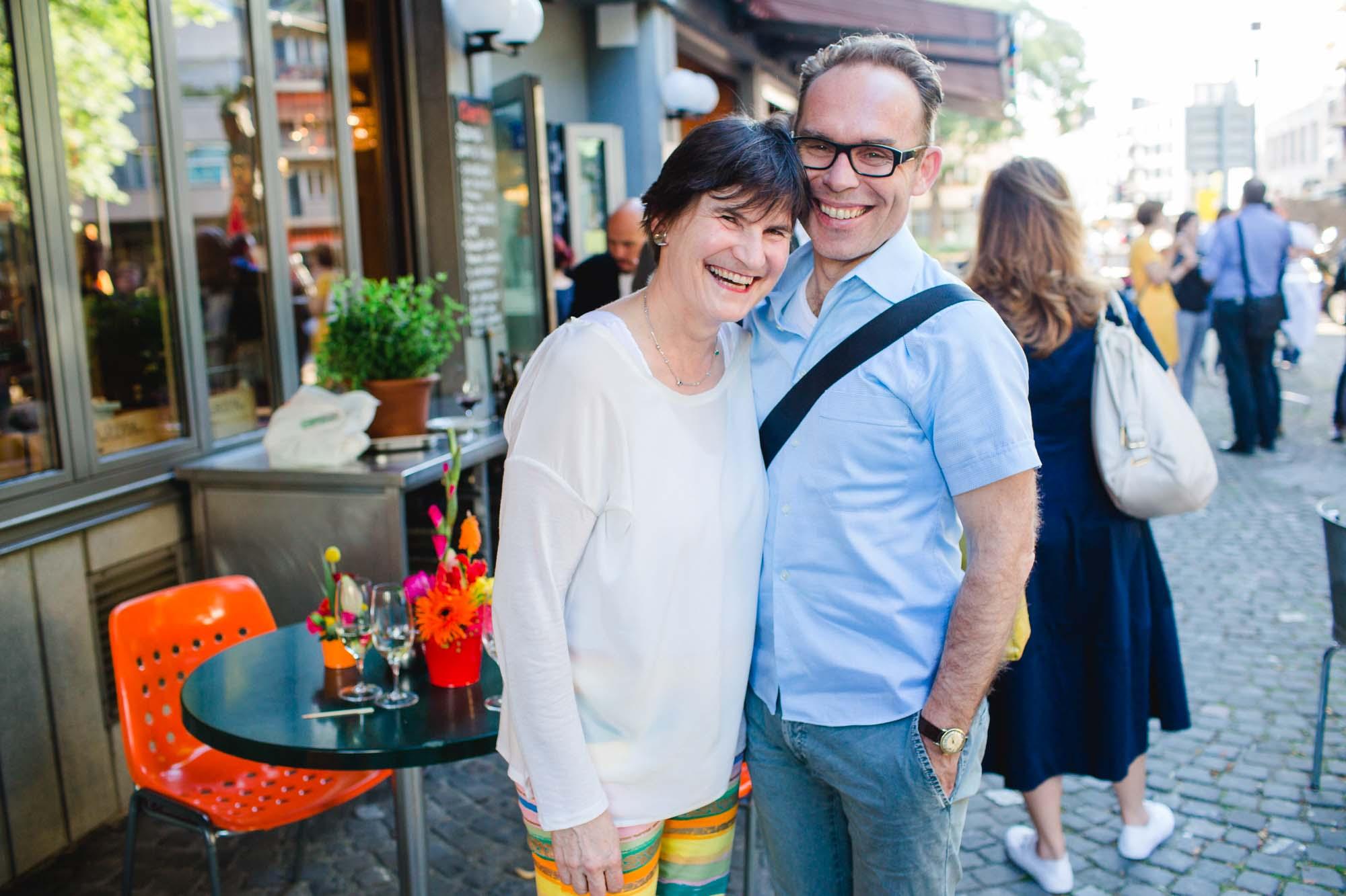 Jacqueline and Alexander Rödiger