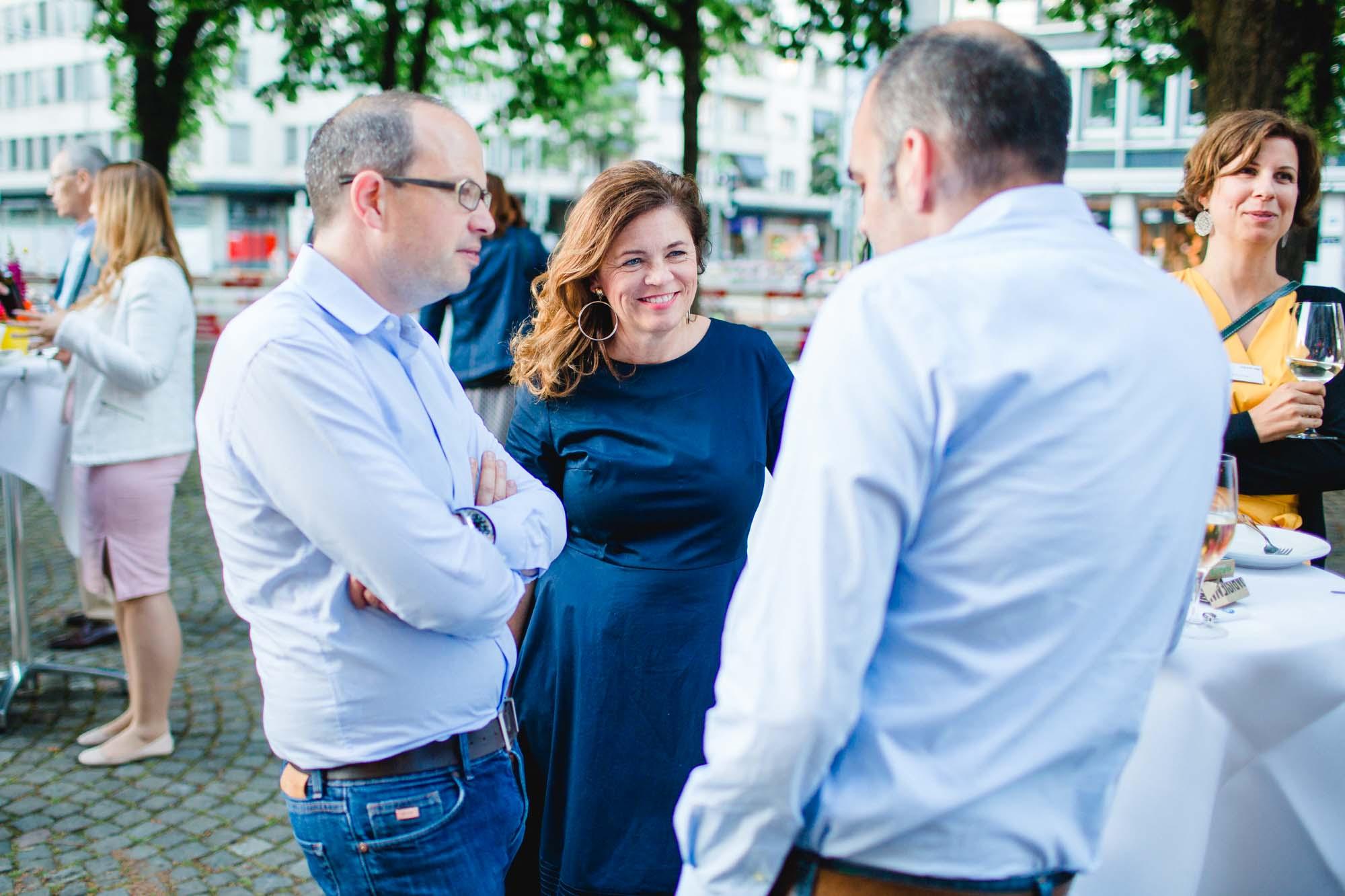 Lorenz Heinzer, Tanja Kocher and Patrick Stoll