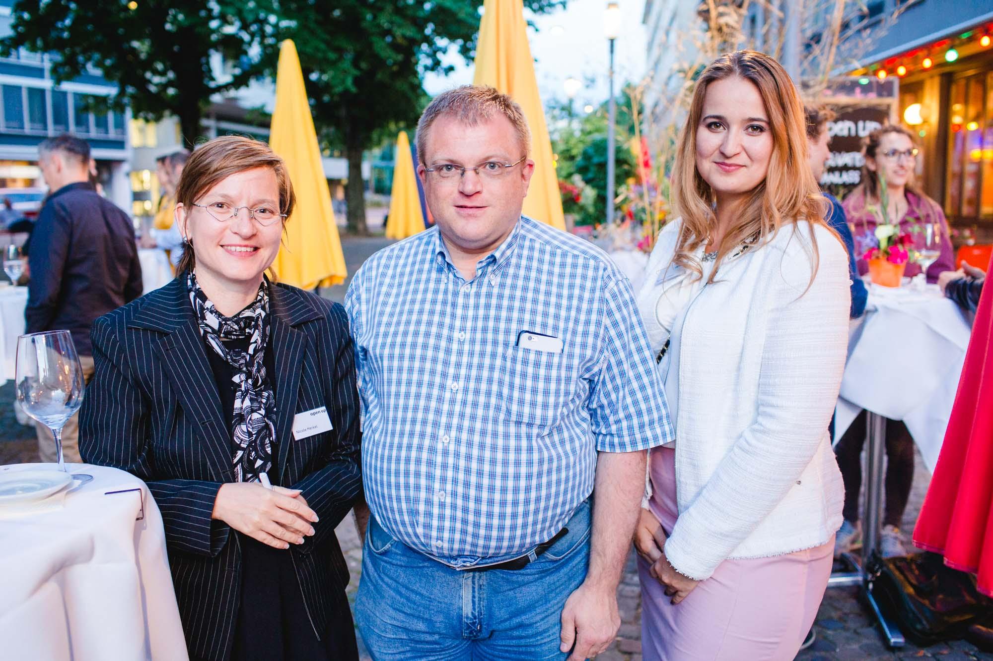 Nicole Merkel, Ralph Beyeler and Ramilya Iftodi