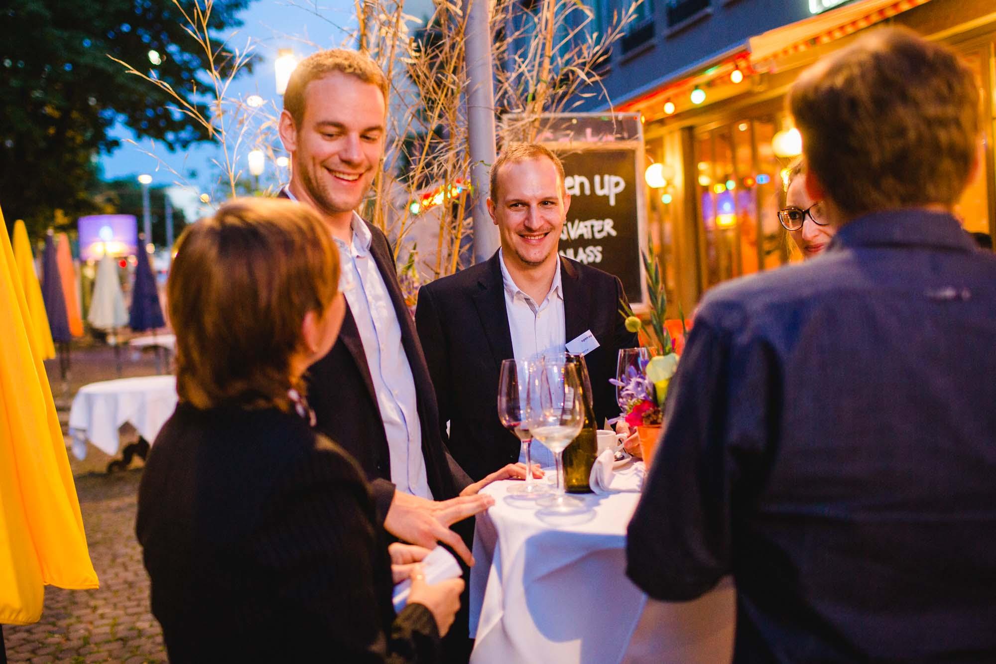 Nicole Merkel, Mario Schuler and Lukas Mettler