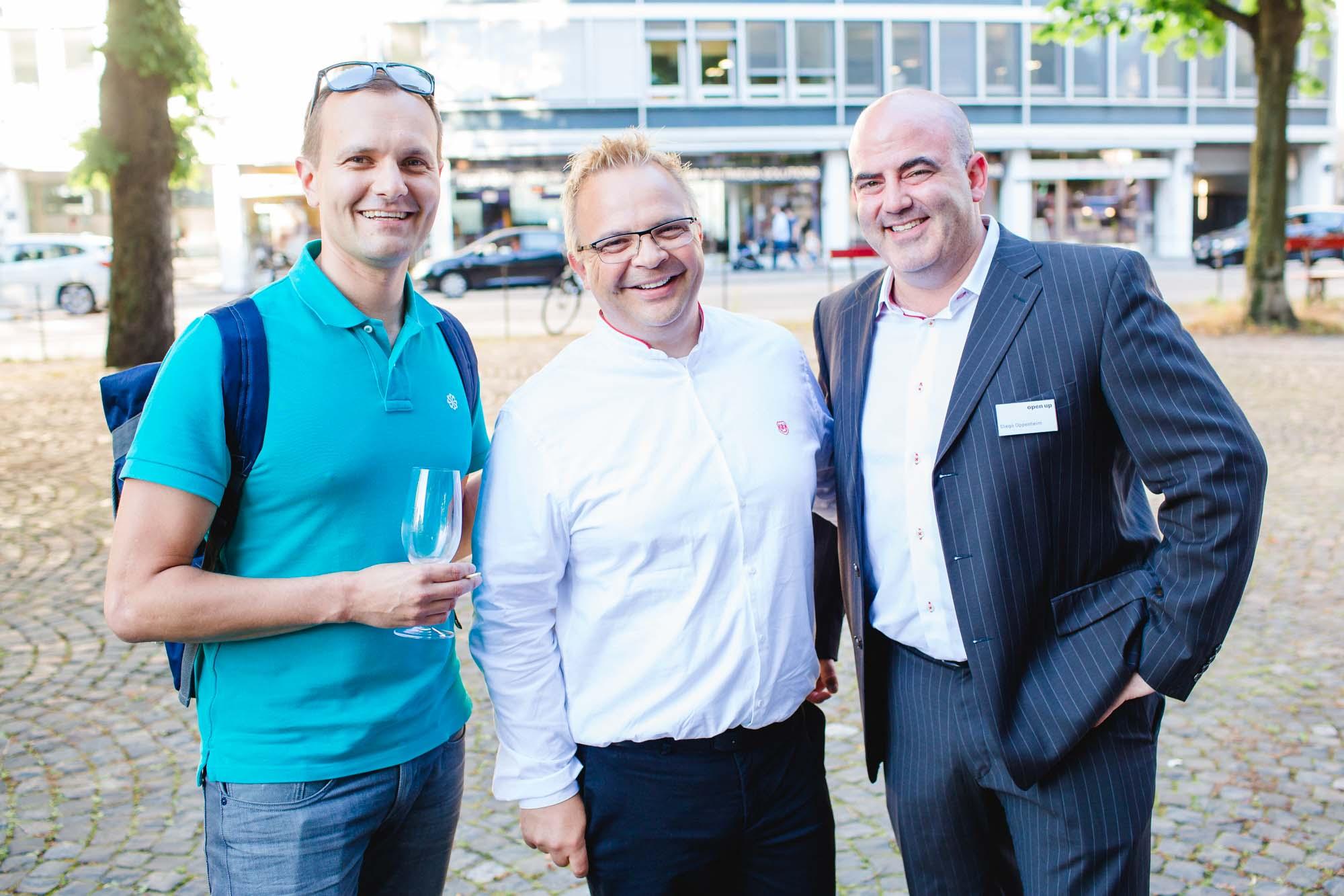 Martin Anghern, Stefan Schmid and Diego Oppenheim