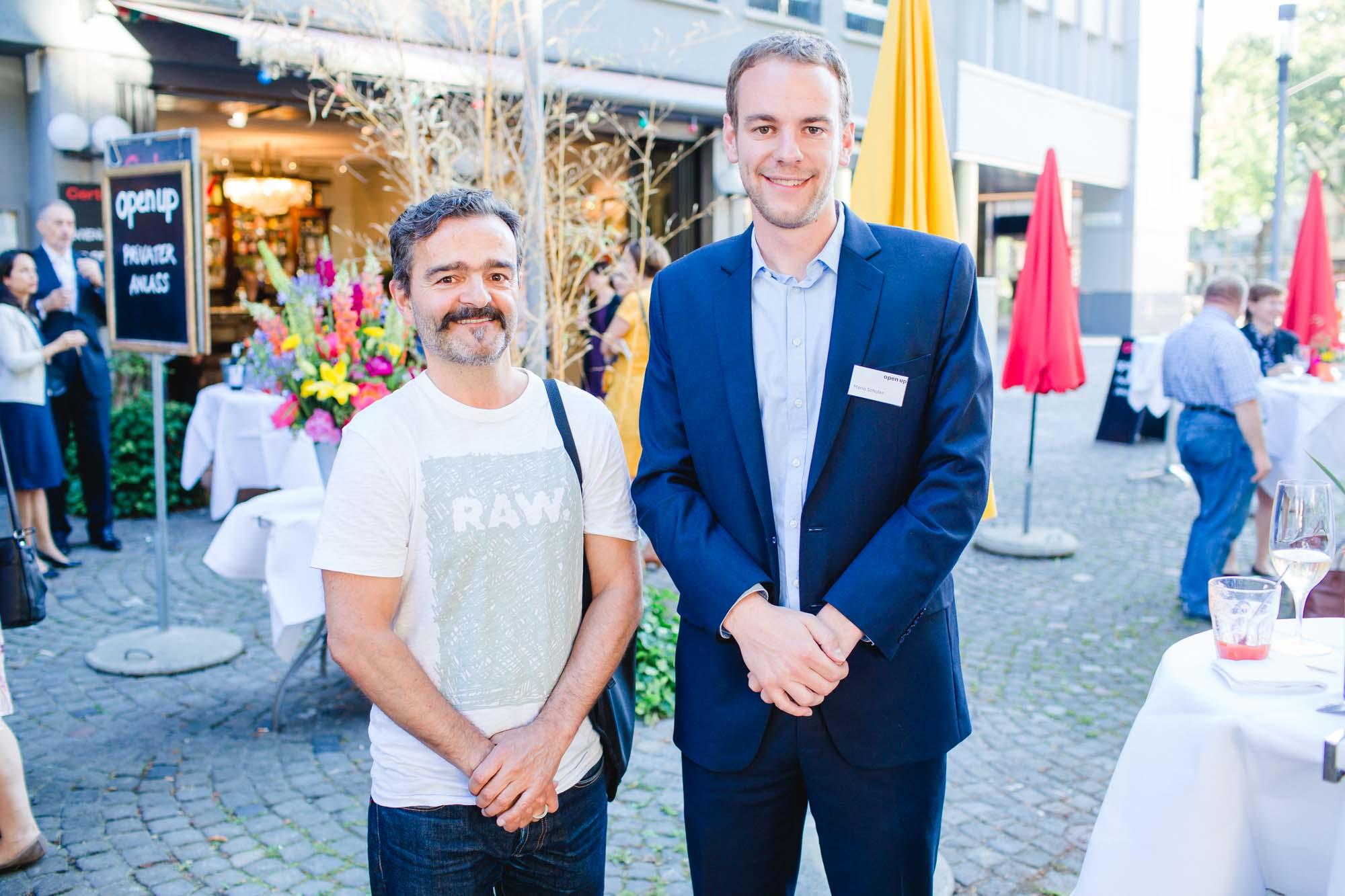 Rüedi Steiner and Mario Schuler