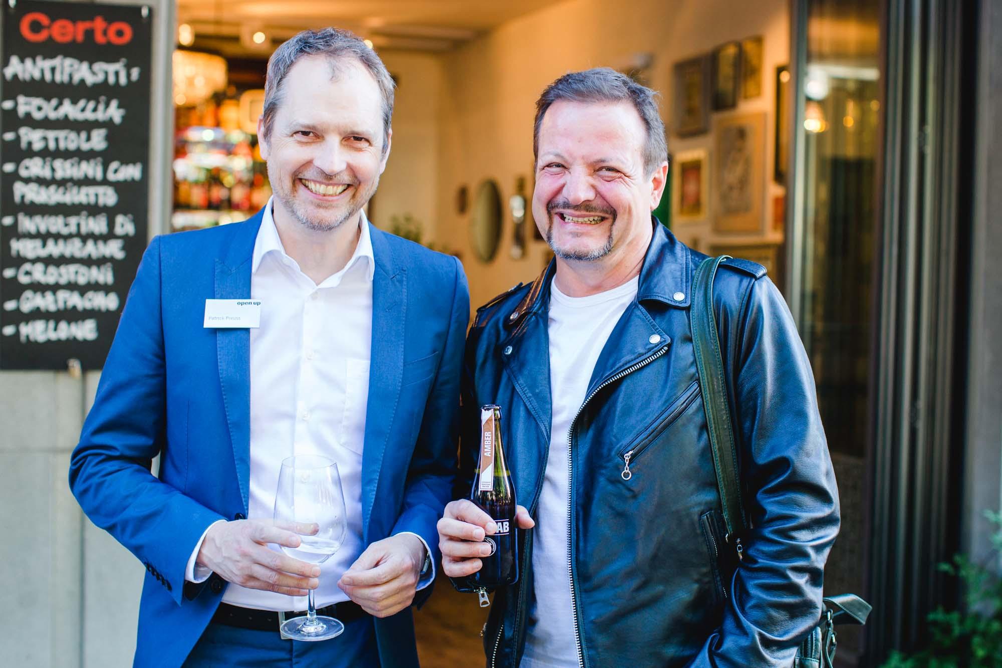 Patrick Preuss and Geri Krischker