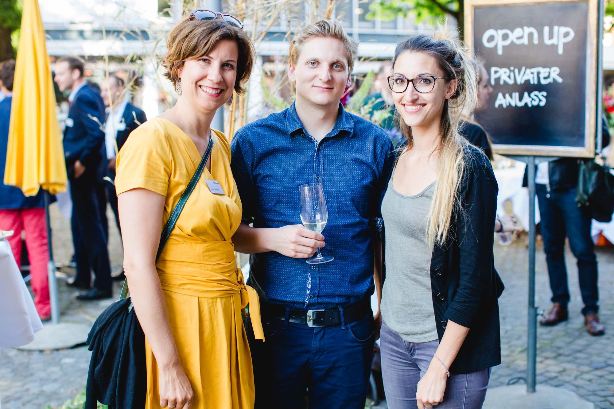 Katrin Schmitter, Ralph Büchi and Rebecca Saltalamacchia