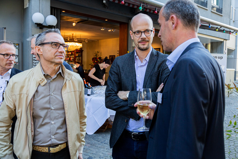 Walter Schärer, Raphael Bienz, Kilian Borter