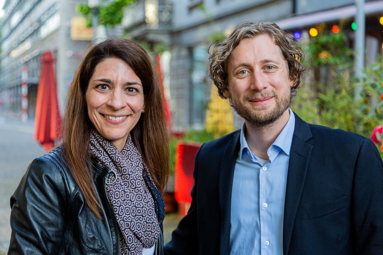 Alessandra Pomponio und Pascal Trüb