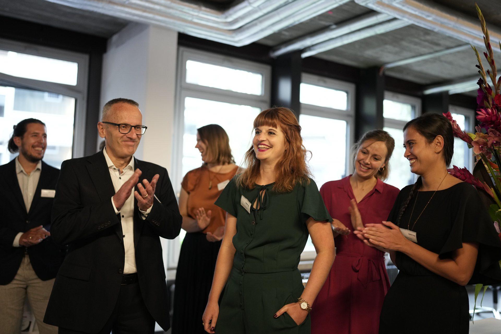 Evelyne Oechslin und das open up Team